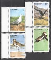 CC037 GRENADA FAUNA MARINE BIRDS SET MNH - Möwen