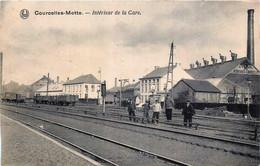 Belgique - Courcelles-Motte - Interieur De La Gare - Ligne 124 - Courcelles