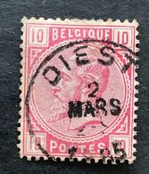 Leopold II OBP 38 - 10c Gestempeld EC DIEST - 1883 Leopold II.