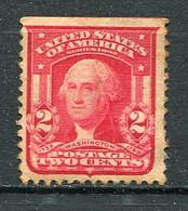 E-U 1903 Yv. N° 158   SC.  N° 319.Wmk USPS  ** MNH  2c Washington  Horizontal Unperforated Cote 10  Euro  BE R 2 Scans - Ungebraucht