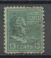Etats Unis - Vereinigte Staaten - USA 1938 Y&T N°383 - Michel N°425 (o) - 13c F Fillmore - Gebruikt