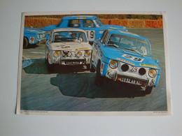 Automobilia,Renault 8 Gordini,coupe Nationale Circuit De La Châtre,1970 - Altri