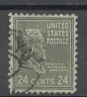 Etats Unis - Vereinigte Staaten - USA 1938 Y&T N°393 - Michel N°435 (o) - 24c H Harrison - Gebruikt