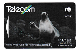 New Zealand Hooker's Sea Lion Phonecard Used B210915 - Non Classificati