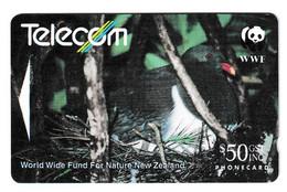 New Zealand Chatham Island Pigeon (Parea) Phonecard Used B210915 - Non Classificati