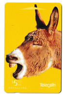 New Zealand Chatham Donkey Phonecard Used B210915 - Altri