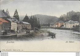 BOUILLON ..-- Nels 40 , N° 120 Couleur . Le Quai Des Saulx . SUPERBE . MILITARIA 1918 Vers France . Voir Verso . - Bouillon