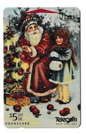 New Zealand Santa Clauss Phonecard Used B210915 - Natale