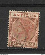 ANTIGUA  N° 16 OBLITERE - 1858-1960 Crown Colony