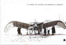 AVIATION - Robert De LESSEPS Sur Monoplan Frégate - Aviadores