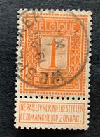 OBP 108 Gestempeld EC WESPELAER - 1912 Pellens
