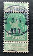 OBP 110 Gestempeld EC K.D. FELDPOSTSTATION NR 3 - 1912 Pellens