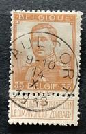 OBP 113 Gestempeld EC WAULSORT - 1912 Pellens