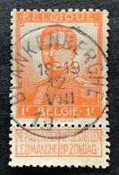 OBP 116 Gestempeld EC BLANKENBERGHE - 1912 Pellens