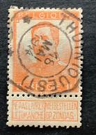 OBP 116 Gestempeld TELEGRAAFSTEMPEL THUIN OUEST - 1912 Pellens