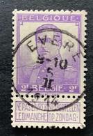 OBP 117 Gestempeld EC EVERE - 1912 Pellens
