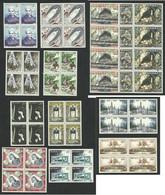 MONACO Set X4 --1958 MNH LUX - Unused Stamps