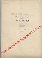 1926 / Gare De Esbly (ligne De Paris à Avricourt ) SNCF Rail - Railway