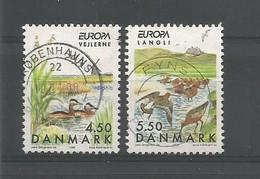 Denmark 1999 Europa Birds Y.T. 1215/1216 (0) - Gebruikt
