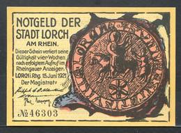 257-Lorch 25pf 1921 - [11] Lokale Uitgaven