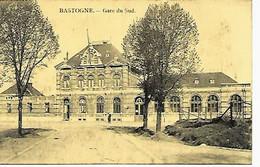 CPA / PK  -   BASTOGNE   Gare Du Sud - Bastenaken