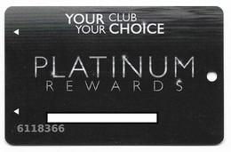 Golden Moon Casino, Choctaw, MS, U.S.A., Older Used Slot Or Player's Cardcard, # Goldenmoon-1 - Casinokarten