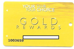 Golden Moon Casino, Choctaw, MS, U.S.A., Older Used Slot Or Player's Cardcard, # Goldenmoon-2 - Casinokarten
