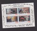 "FRANCE / 1995 / Y&T N° 2919/2922 En Bloc ** Ou BF N° 17 ** (Feuillet ""1er Siècle Du Cinéma"") X 1 - Mint/Hinged"