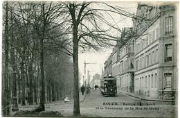 ROUEN - RAMPE BOUVREUIL Et Le TRAMWAY De La RUE St MAUR - - Rouen