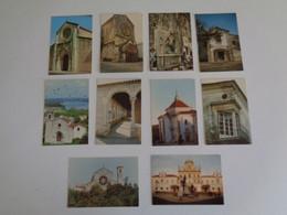 Imagens Monumentos De Santarém Complete Set Of 20 Portuguese Portugal Pocket Calendars 1988 - Small : 1981-90