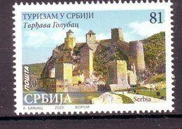 Serbia 2020 Tourism In Serbia - Fortress Golubac  MNH - Serbia