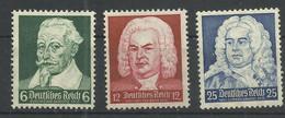 Deutsches Reich 573/575 ** - Unused Stamps
