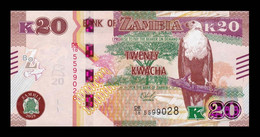 Zambia 20 Kwacha 2018 Pick 59b SC UNC - Zambia