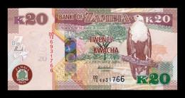 Zambia 20 Kwacha 2012 Pick 52a SC UNC - Zambia