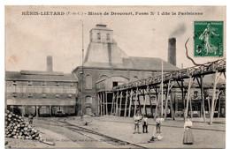 Henin Lietard -   Mines De Drocourt - Fosse N°1 Dite La Parisienne    - CPA°gk - Altri Comuni