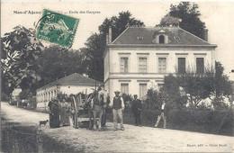 CPA Mas D'Agenais Ecole Des Garçons - Marmande