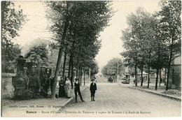 ROUEN - QUARTIER ST SEVER - ROUTE D' ELBEUF - TERMINAL Du TRAMWAY à VAPEUR De TRIANON à La FORÊT De ROUVRAY - RARETE - - Rouen