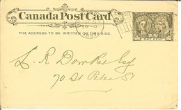 Carte Postale Du CANADA POST CARD  One Cent De MONTREAL ( General Hospital )1897 - 1860-1899 Regering Van Victoria