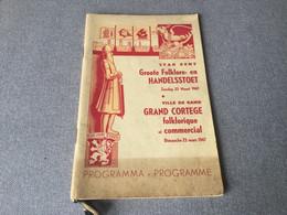 Programma Boek Stad Gent - Gent