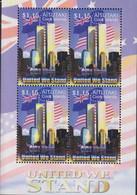 Ref. 142728 * NEW *  - AITUTAKI . 2003. UNITED WE STAND. ESTAMOS UNIDOS - Aitutaki