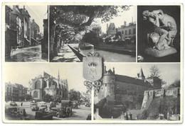 CPSM MONTARGIS - Multi Vues - 5 Vues - Ed. Photo J. Lemosse , Montargis N°190 - Montargis