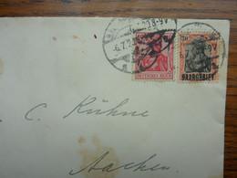 1920  Brief   SAARBRUCKEN   PERFEKT - Covers & Documents