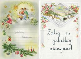 Nj3 - Twee Oude Nieuwjaarsbrieven ( 1962 En 1957 ) - New Year