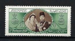 ⭐ Egypte - YT N° 209 ** - Neuf Sans Charnière - 1938 ⭐ - Unused Stamps