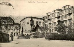Spanje Spain Espana - La Coruna - Plaza Azcarraga - 1911 - Non Classés