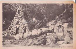Issime Aosta Grotte A Jesus Agonisant Parroco Grato Vesan Bollo Staccato Angolino Alto Dx Mancante - Other Cities