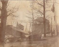 Photo Novembre 1918 PARIS - Jardin Des Tuileries, Exposition D'avion Allemand Aviatik, Aviation (A233, Ww1, Wk1) - 1914-1918: 1st War