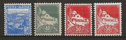 ALGERIE 1942 . N°s 171 , 172 Et 173 Et 173A  . Neufs ** (MNH) - Ungebraucht
