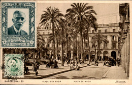 Spanje Spain Espana - Barcelona - Plaza De Macia - 1933 - Unclassified