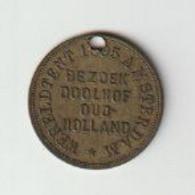 Penning-jeton-token Wereldtentoonstelling Amsterdam (NL) 1895 Goliath - Professionals/Firms